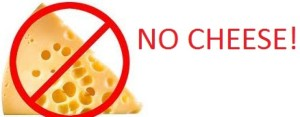 no cheese