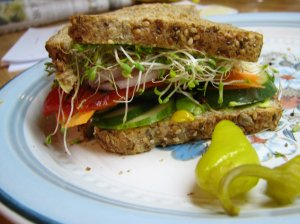 Messy Sandwich