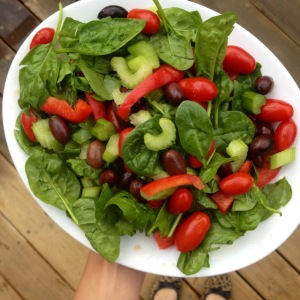 challenge veg salad