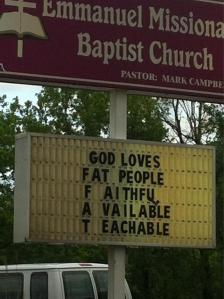 fat-people sign