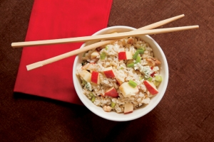 Rice Salad with apples