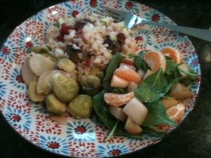 Xmas Veggie Dinner