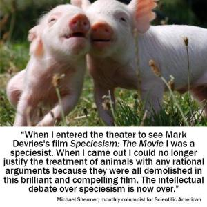 Michael Shermer on Speciesism