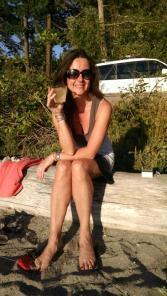 Me on beach