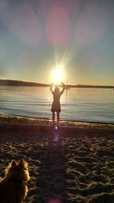 Sunset Pippa & Me