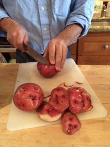 Cutting Potatoes