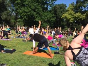 Yoga In Park I