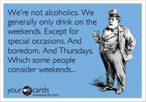 Not alcoholics
